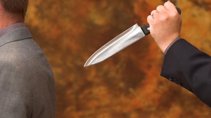 Маж прободен со нож во  грбот, едно лице приведено
