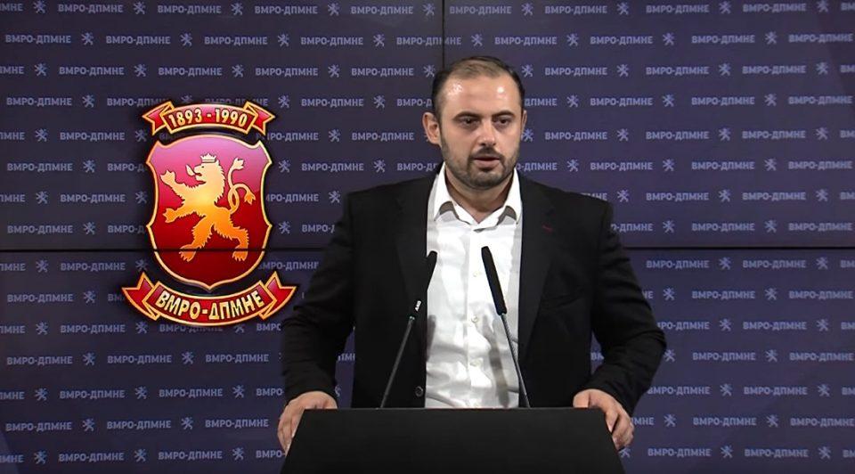 Ѓорѓиевски: Ветингот во МВР е со цел справување со сите кои не ги спроведуваат криминалните политики на Заев и Спасовски