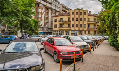 """Еден час паркинг кај """"Дом на Градежници"""" ќе чини 250 денари"""