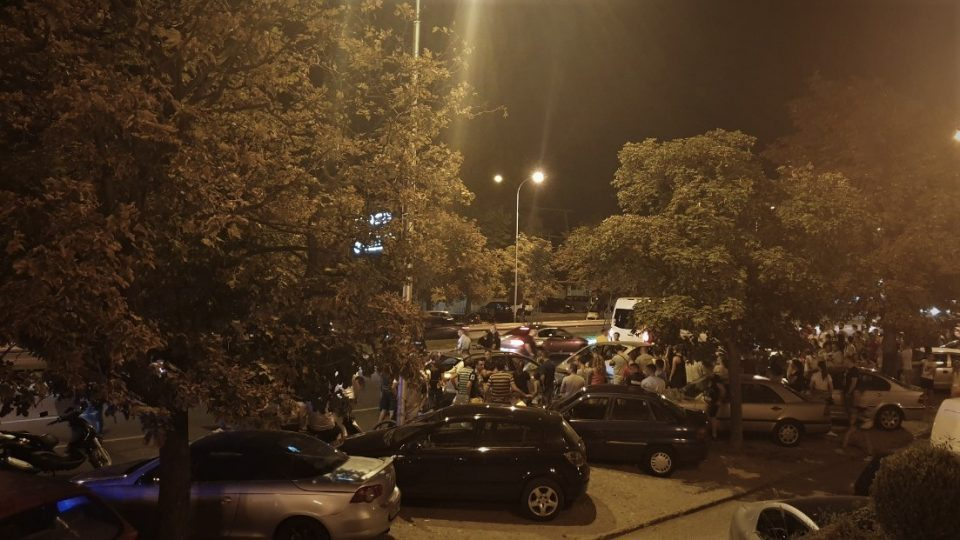 Страшна сообраќајка кај Порта Влае (ВИДЕО)