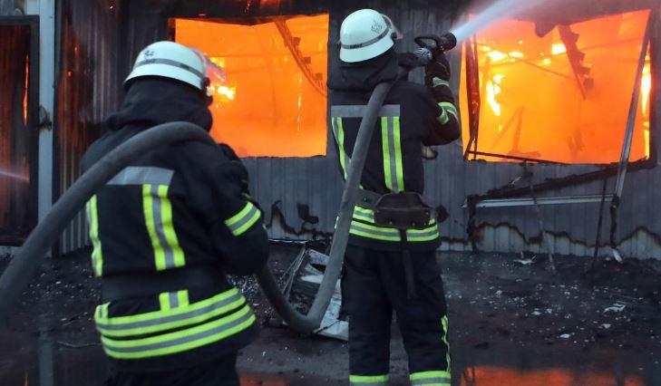Пожар во хотел во Одеса