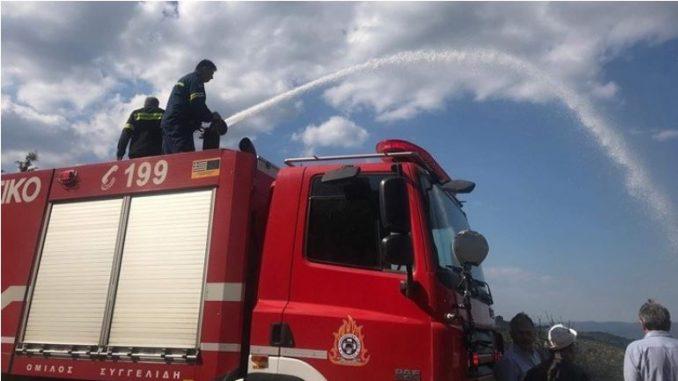 Две села евакуирани поради пожар