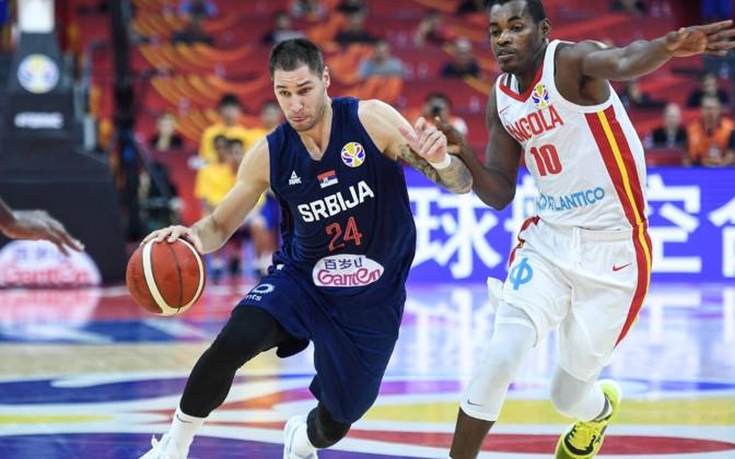 Светско првенство во кошарка: Србија ја растури Ангола
