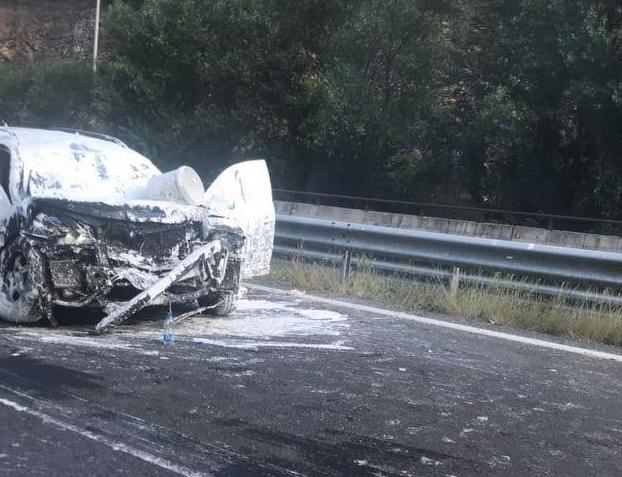 Тројца повредени во тешката сообраќајка кај Карпалак