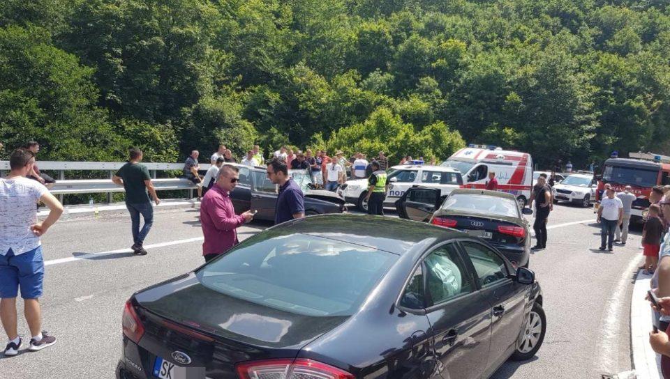 Сообраќајка на Стража: Има повредени
