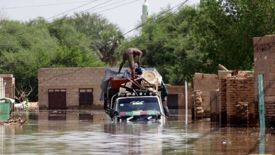 Судан: Над 60 загинати во поплави