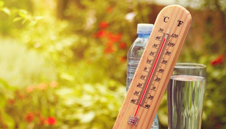 Сончево и многу топло време, УВ индексот 9