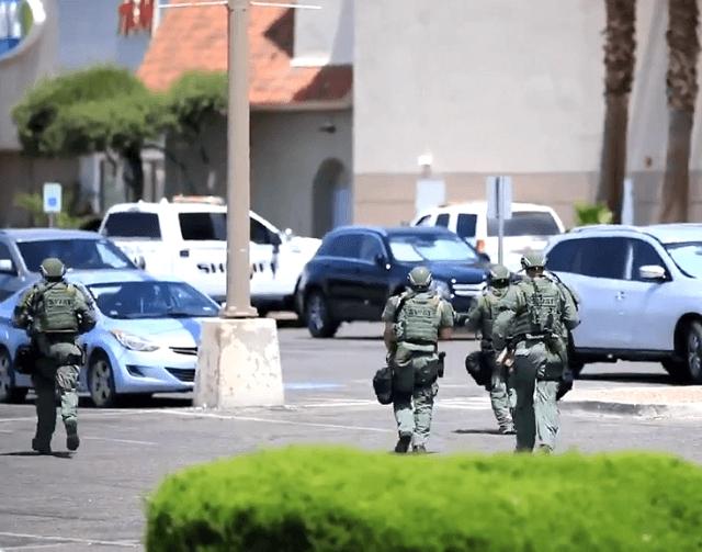 И војската се справува со напаѓачите во Тексас- Повеќе загинати, десетици повредени (ВИДЕО)