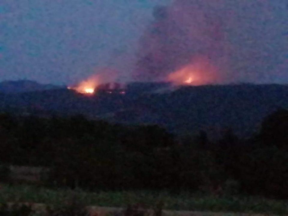 (ФОТО) Пожарот во Опеница уште активен, го задуши цел Охрид