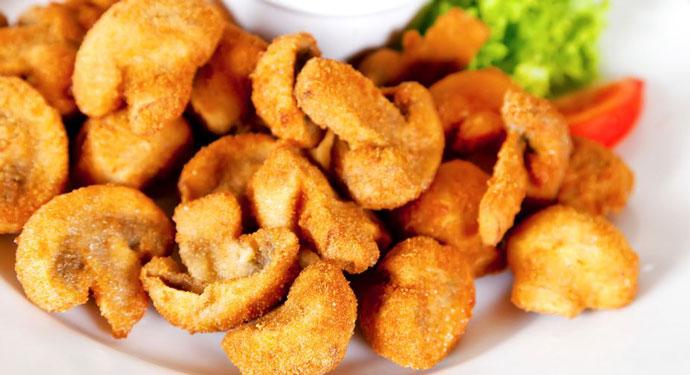 Посен ручек: Похувани печурки во пиво