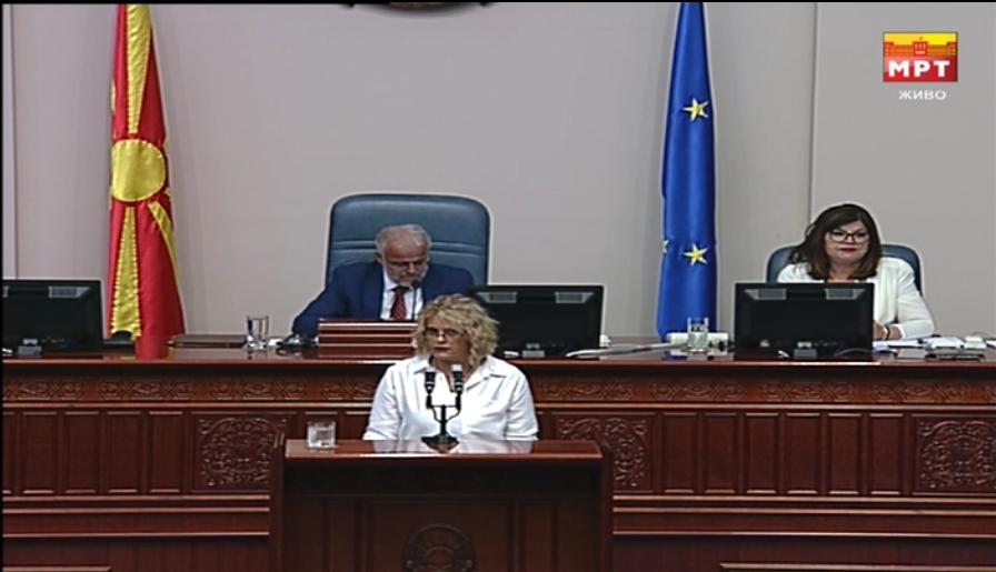 Затуроска до Заев: Не треба да ни читате кратки биографии на новите министри, туку да ни објасните што точно ќе прават