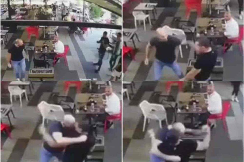 ВОЗНЕМИРУВАЧКО ВИДЕО: Нова снимка од бруталната тепачка во која со нож беше избоден зетот на Наташа Беквалац