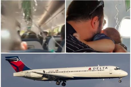 """Драма на небото над Атланта: Авион """"пропаднал"""" 9.000 метри за седум минути"""