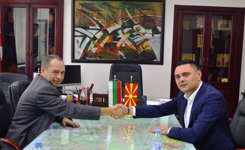 Јанчев се сретна со Амбасадорот на Бугарија, Ангелов