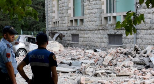 Првичен биланс од земјотресот во Албанија: Оштетени 109 куќи, седум станбени згради, повредени 68 лица