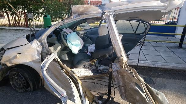 Загина едно лице: Сообраќајка во близина на Солун предизвикана од криумчар на мигранти