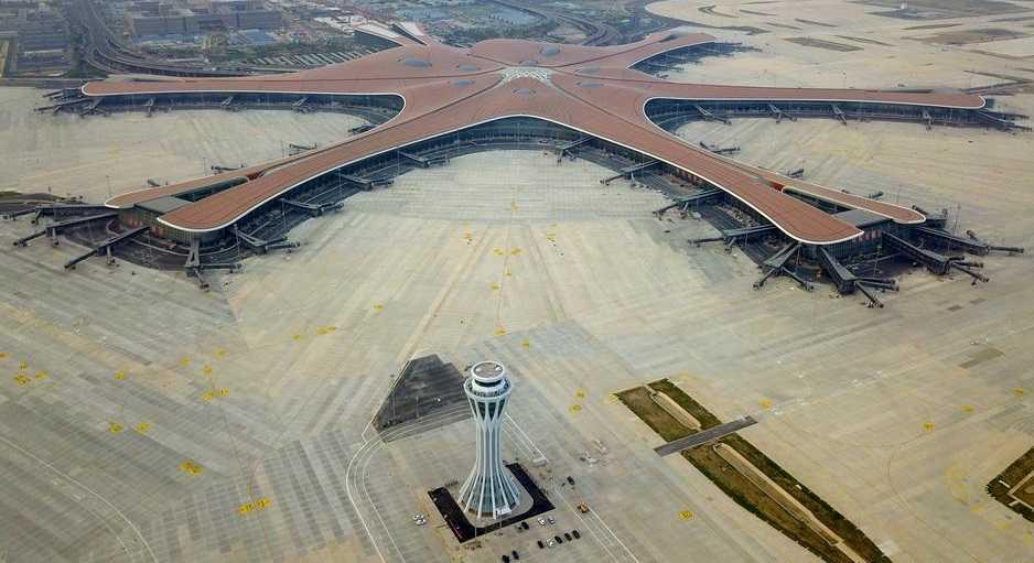 Во Кина отворен најголемиот аеродром во светот (ВИДЕО)
