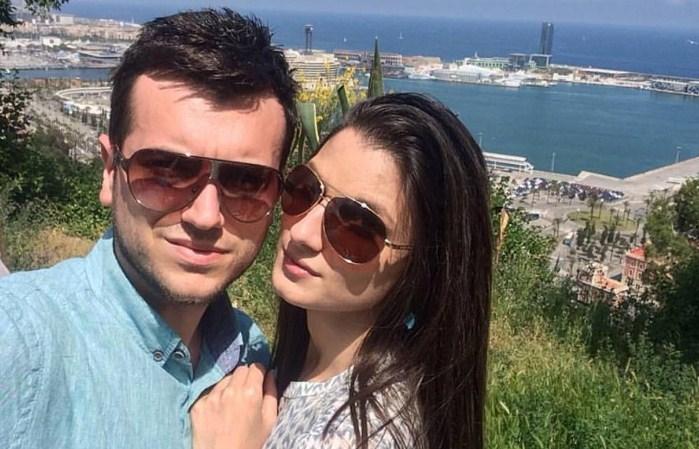 ФОТО: Александар Белов ја запроси девојката