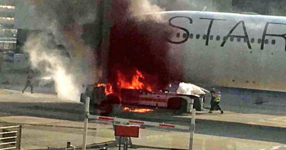 Страотни сцени од кои ќе ви се заледи крвта: Се запали авион во воздух, 56 патници едвај спасија жива глава (ВИДЕО)