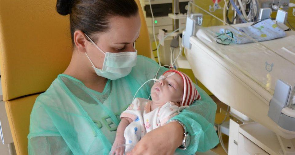 На бебе од Македонија му е направена една од најтешките и најкомплексни операции на срце
