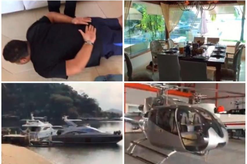 ВИДЕО: Соборен во луксузната вила, уапсен најголемиот дилер во Европа
