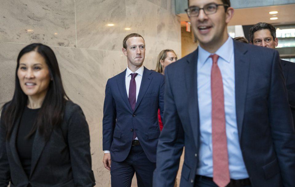 Сопственикот на Фејсбук на средба со Доналд Трамп
