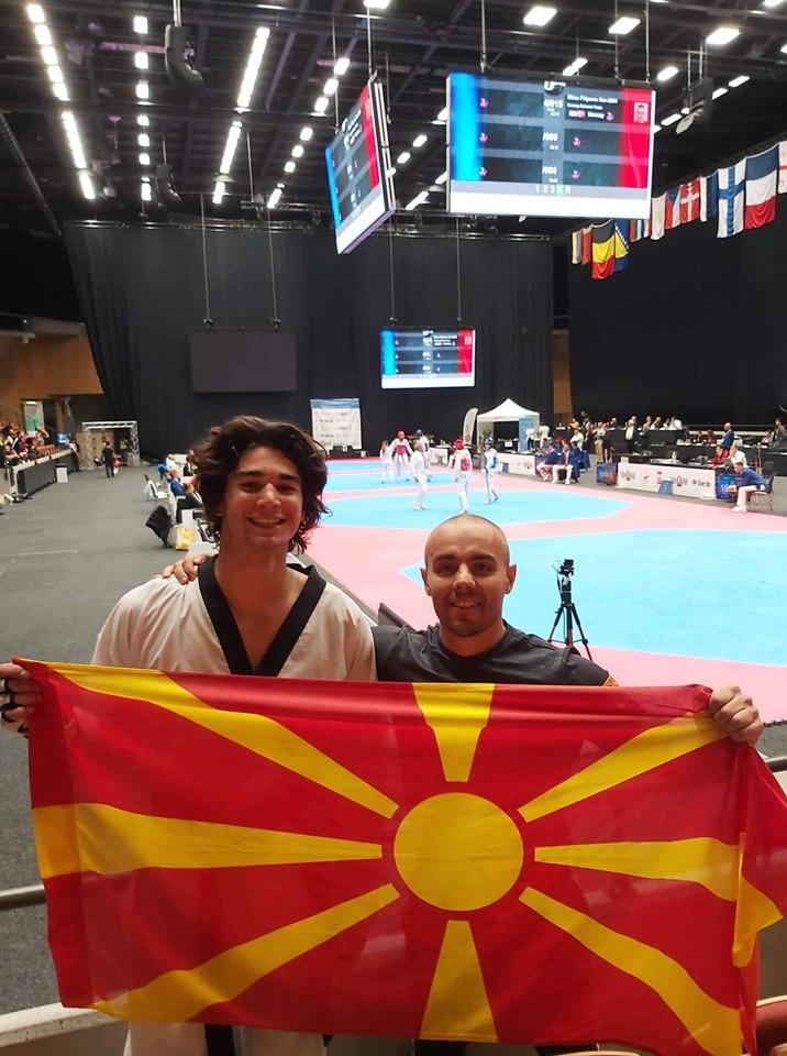 Филип Додевски освои бронзен медал на ЕПУ 21 во Шведска во олимписко таеквондо