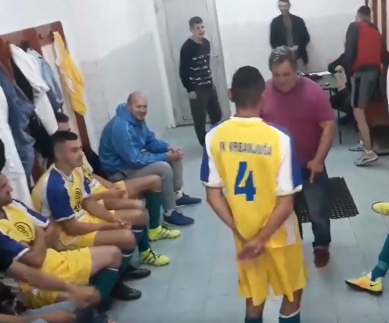 Тренер урла кон својот играч: Ако се откажа од дрогата, ќе играш (ХИТ ВИДЕО)