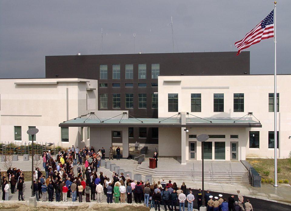 Хуманитарна акција на амбасадата на САД и Црвениот крст на Град Скопје
