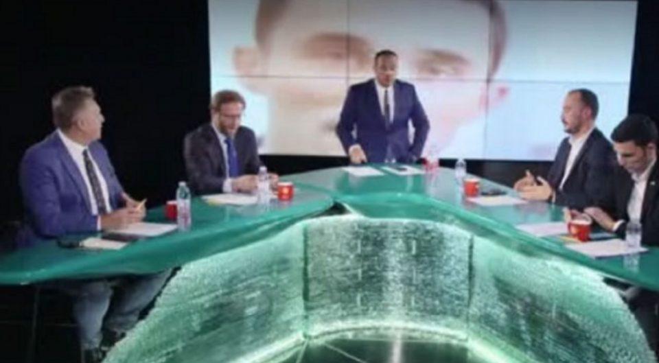 Хаос на косовска телевизија: Се степаа двајца кандидати за пратеници