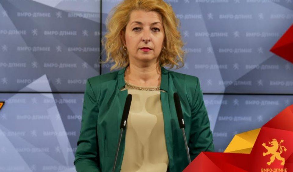 Ласовска: СДСМ и новинарите кои ја поддржуваат политиката на Заев, не запираат со мизогинија и говорот на омраза