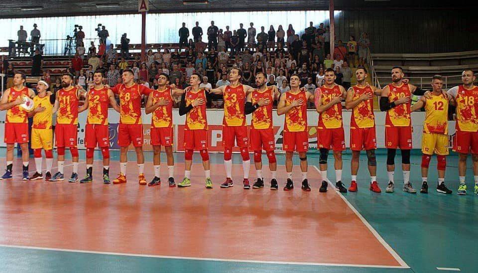 Македонските одбојкари го започнуваат настапот на Европското првенство