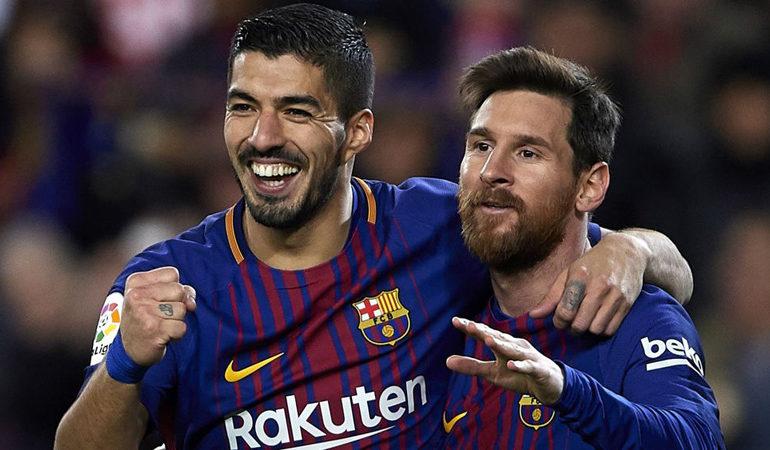 Меси и Суарез го пропуштија тренингот на Барселона пред мечот со Валенсија