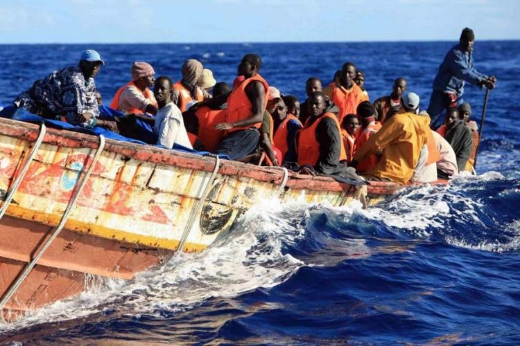 Околу 20 мигранти од Африка се удавија вои Средоземно Море, се трага по исчезнатите