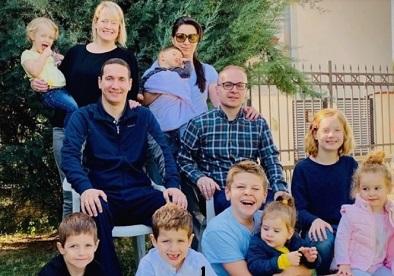 Ѓорчев и Милошоски ги покажаа семејствата, се пофалија со децата