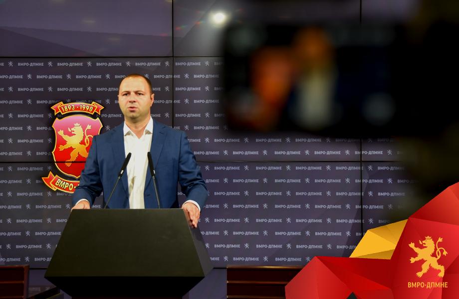 Мисајловски: Спасот од оваа неспособна, расипничка и корумпирана власт се само предвремени избори
