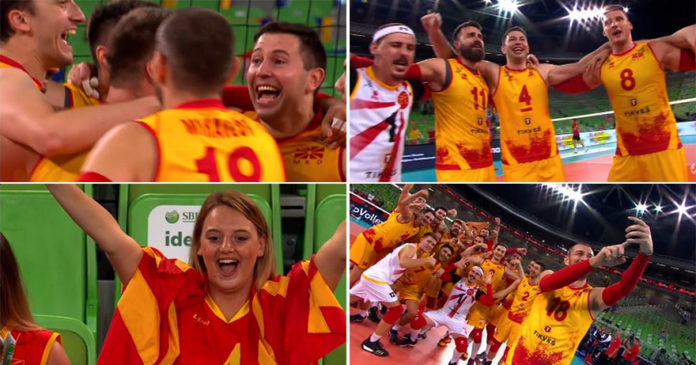 """ВИДЕО: Одбојкарите прославија со оро, """"Бисер Балкански"""" грмна и во Љубљана!"""