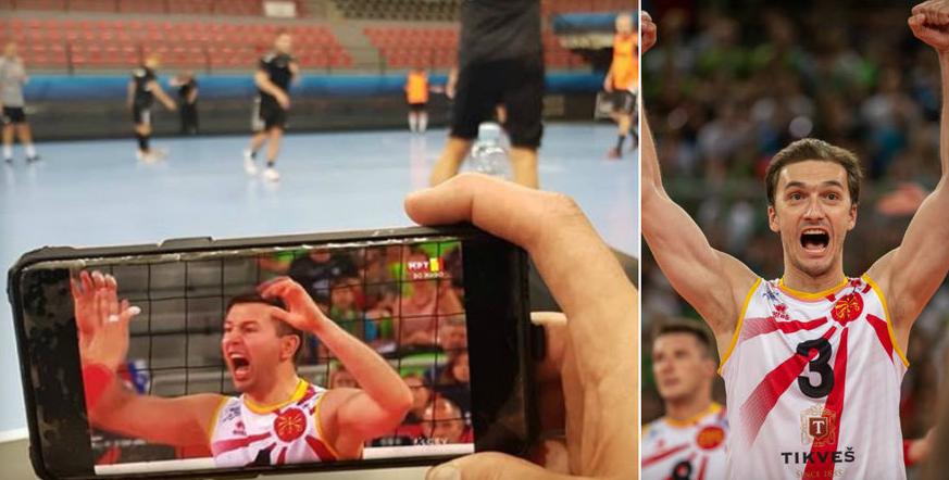 Заборави на тренингот со Вардар, Столе горд на одбојкарите