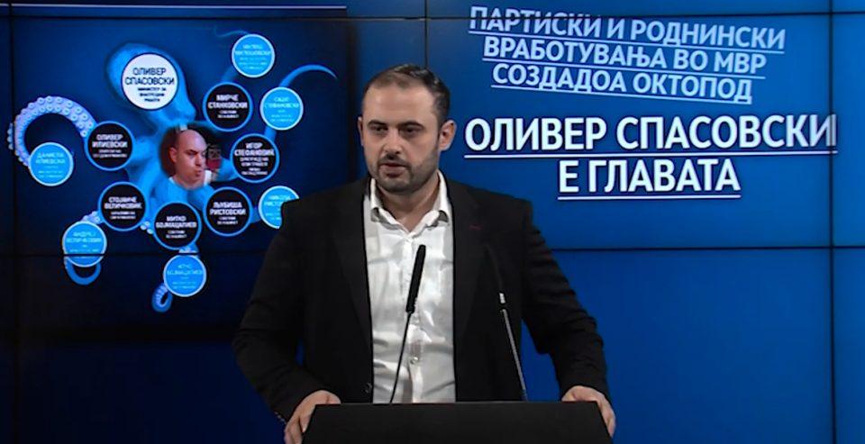 Ѓорѓиевски: Спасовски и Заев го наградуваат Котевски во чиј мандат најбрутално беа нападнати Ристовски и Јанакиевски?