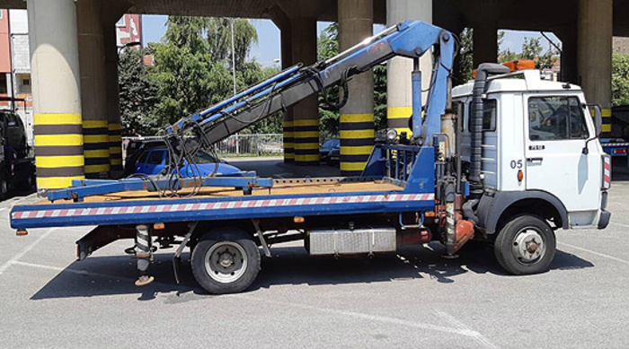 Во Скопје отстранети 120 непрописно паркирани возила