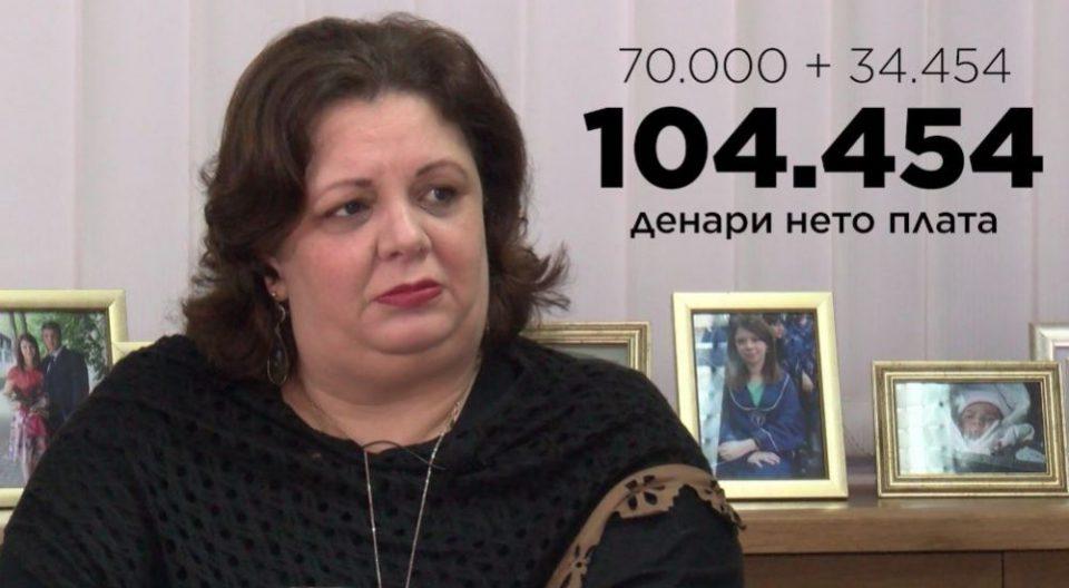 КОД: Јанева земала105.000 денари плус таен надоместок, Јовевски е државен обвинител со 80.000 денари плата