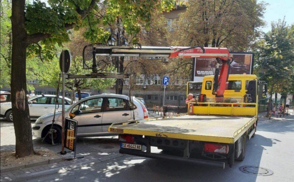 За седум дена санкционирани 286 непрописно паркирани возила во општина Центар