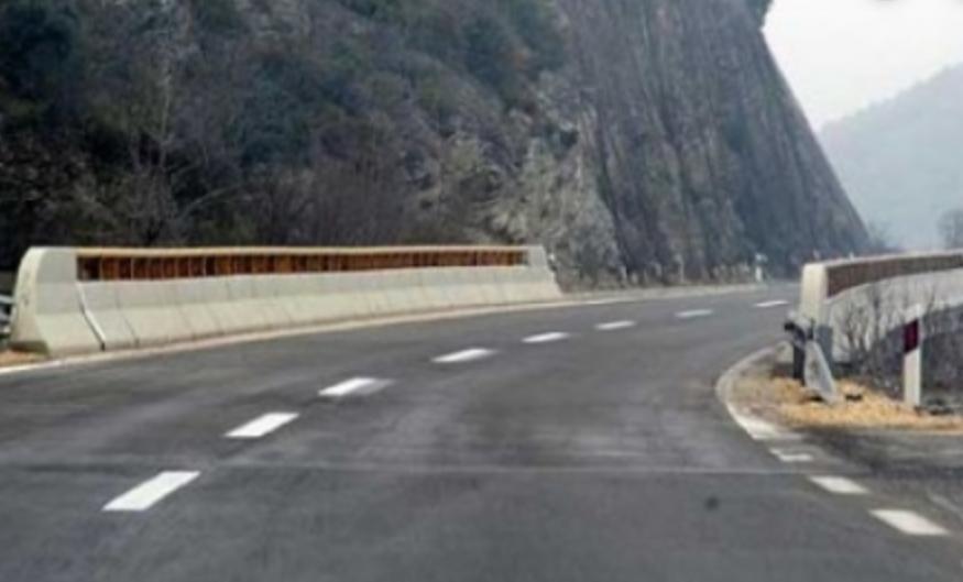 Сообраќајот на патот кај Пресека од 11 часот со прекини