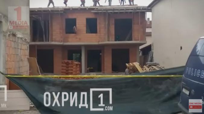ВИДЕО: Започна уривањето на дивоградбите во Охрид