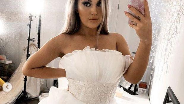 Го купи невестинскиот фустан за само 1.500 денари- но сепак ги стави идните невести на мисла дали вреди да се нарачува преку интернет