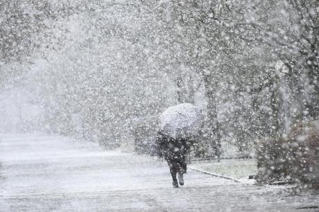 Метеоролозите за денес најавуваат снег, еве каде ќе има обилни врнежи