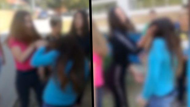 Видео што го потресе Балканот: Две девојчиња тепаат врсничка, а останатите тоа го снимаат