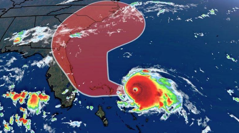 Ураганот Дориан прерасна во петта категорија и може да предизвика катастрофални последици