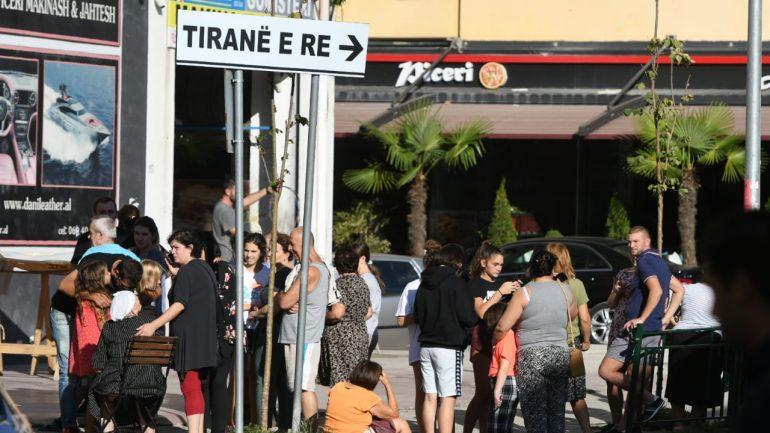 Тлото никако да се смири: Уште еден, трет по ред земјотрес во Албанија