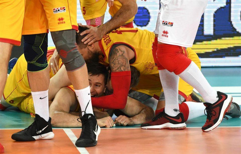 ВИДЕО: Историја за Македонија, прва победа на Европско првенство!